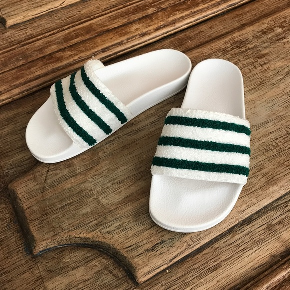 e557b37127e05 adidas Shoes - ✅Adidas terry cloth slides. Very hard to find!✅